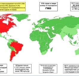 ГМО. Только сухие факты и ничего больше