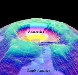 Найдено вещество разрушающее озоновый слой Земли