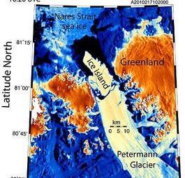 Раскололся крупнейший Гренландский ледник