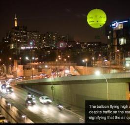 Качество воздуха: в Париже проверяет воздушный шар