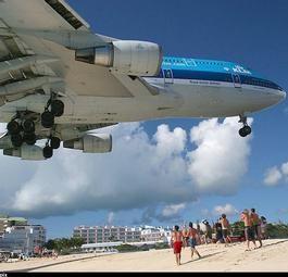 Люди и летающие машины: экология райского острова Сен-Мартен