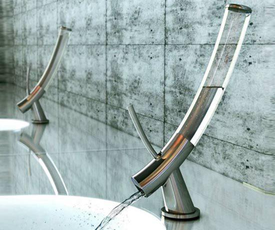 Стильный водосберегающий кран от Yanko Design