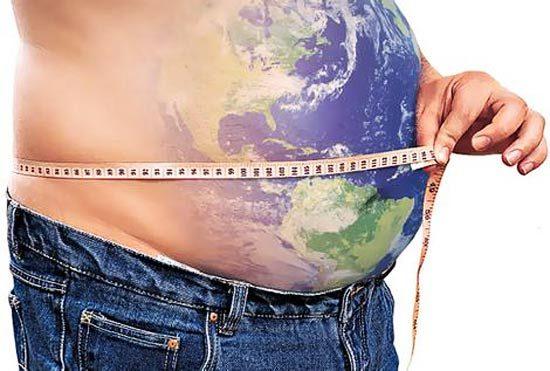 Ожирение - хроническая неинфекционная эпидемия